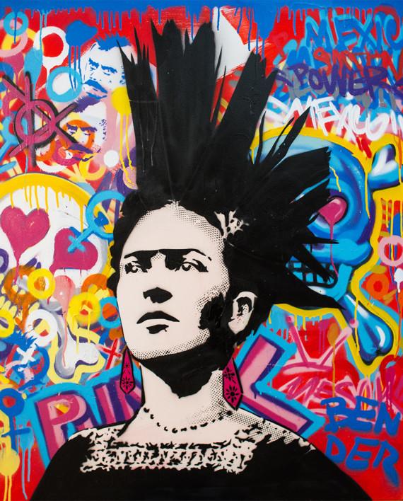 """""""frida punk"""" galeria soldout"""